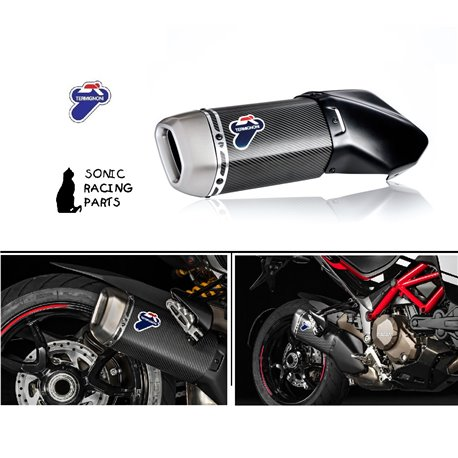 TERMIGNONI SILENCER EXHAUST CARBON DUCATI MULTISTRADA 1200 - 2015 2017 MR 030CR 96480711A