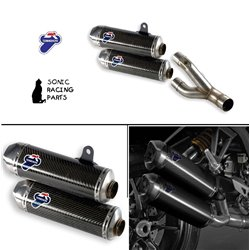 TERMIGNONI SILENCERS EXHAUST CARBON DUCATI MONSTER 1100 EVO MR 012CR 96458811B
