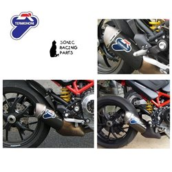 TERMIGNONI SILENCER EXHAUST CARBON DUCATI MONSTER S4R MR 035CO 96116707B