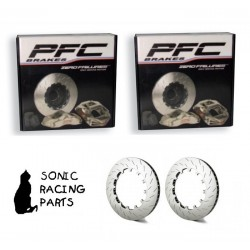 405.34.0065.451 + 461 PFC V3 REPLACEMENT 405 DISCHI NISSAN GT-R R35 - 2008 2011