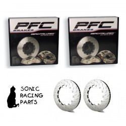 380.34.0062.451 + 461 PFC V3 REPLACEMENT 380 DISCS FOR PORSCHE 911 991 GT3 - 2013 2020