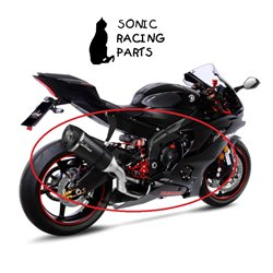 14227S LEOVINCE SCARICO COMPLETO FACTORY S CARBONIO YAMAHA YZF-R6 - 2006 2020